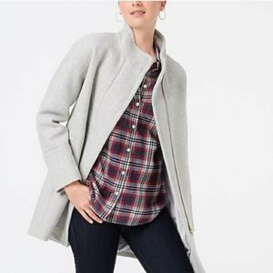 NWT J. Crew New City Wool Coat Size 20 Women's